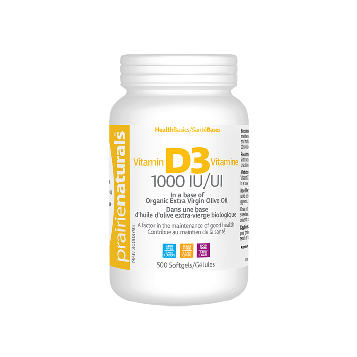 Vitamin D 1000 IU Softgels