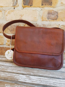 'Magnolia' Handmade Leather Handbag