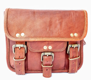 'Maple'  Vintage Handmade Leather Handbag