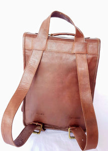 'Birch' Handcrafted Leather Backpack
