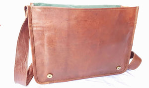 'Holly' Handcrafted Leather Laptop Bag