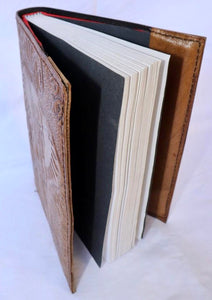 'Snowy' Handcrafted Leather Journal