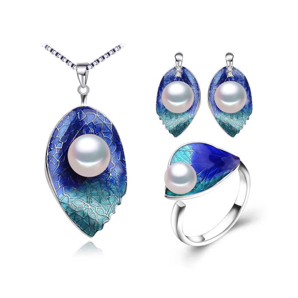 Deep Sea Allure Jewelry Set 3pcs