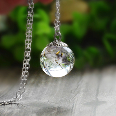 Dandelion Dream Necklace