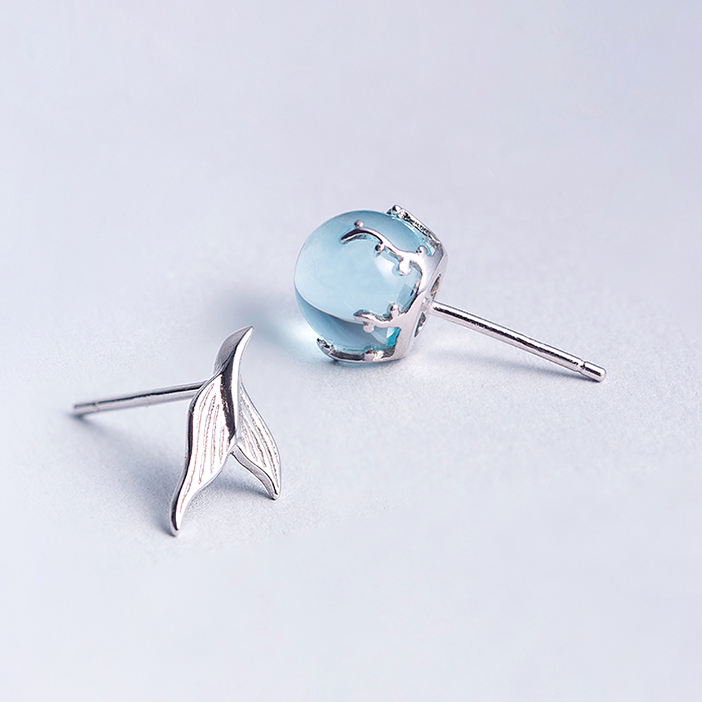 Mermaid's Tear Earrings