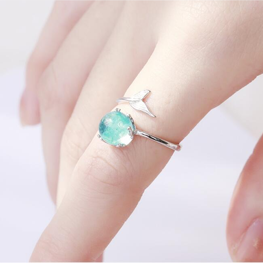 Mermaid's Tear Ring
