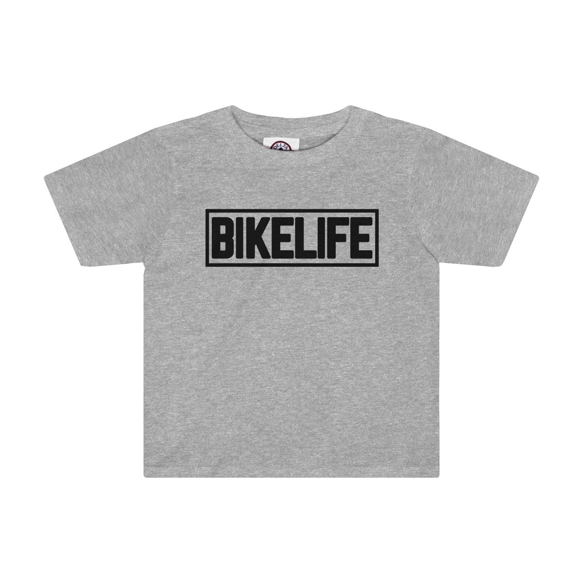 Bike Life Black Logo Youth Tee