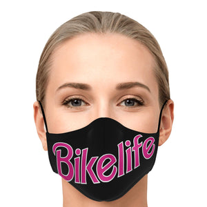 Malibu Bike Life Face Mask - On Black