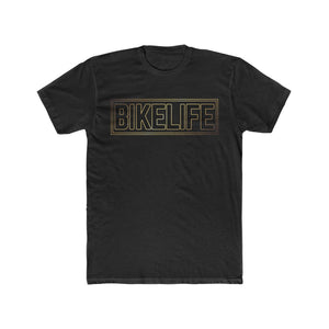 Bike Life Black and Gold Logo Men's Tee