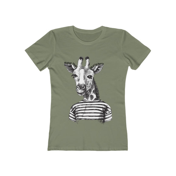 Higher than Giraffe Pussy Women's Tee