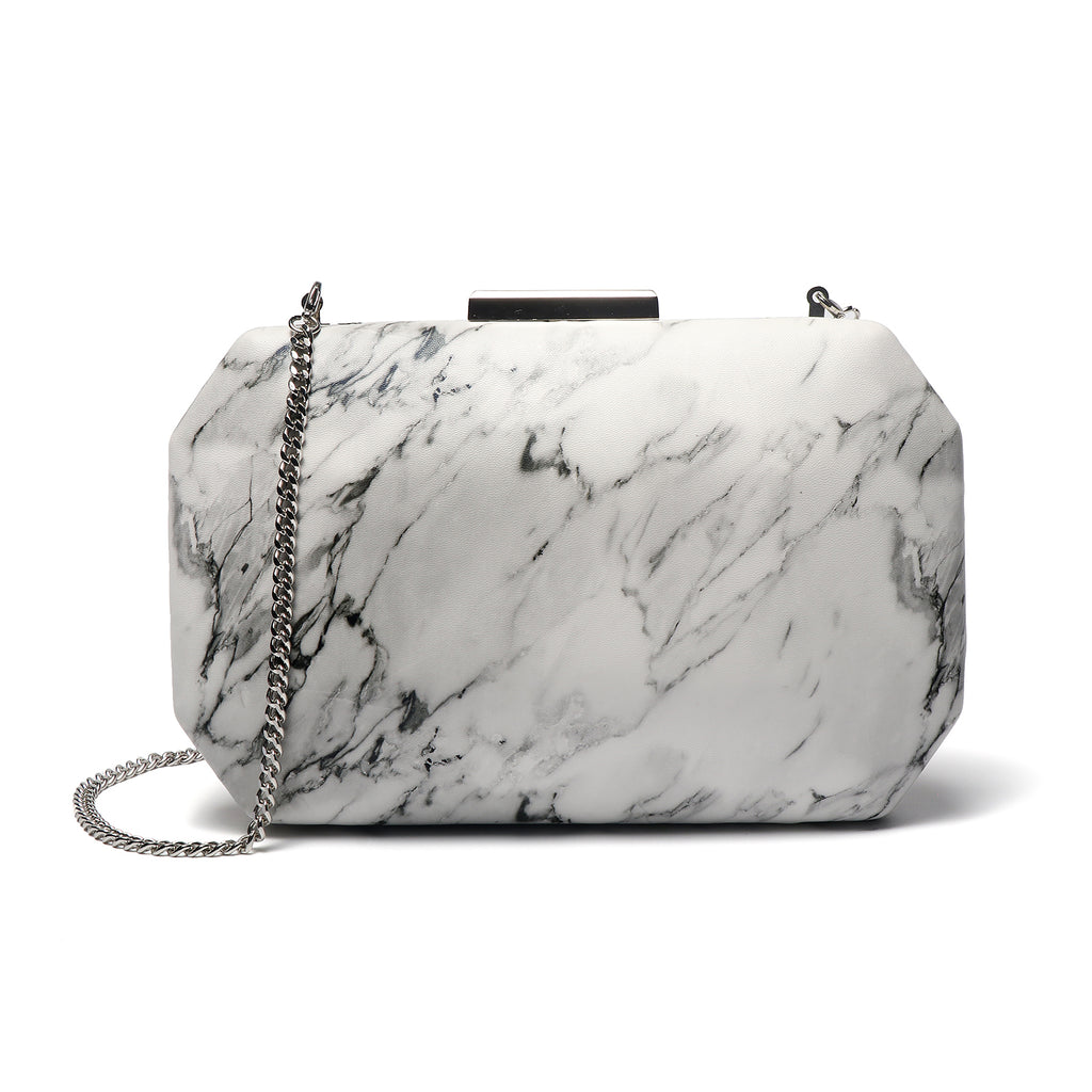 Marbling Pattern Evening  Clutch Bags