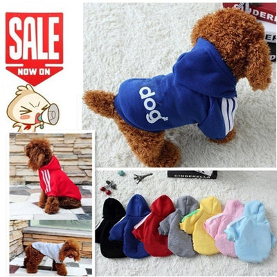 Soft Cotton Puppy Dog Hoodies