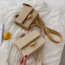 Load image into Gallery viewer, Mini Weaving Crossbody Bag