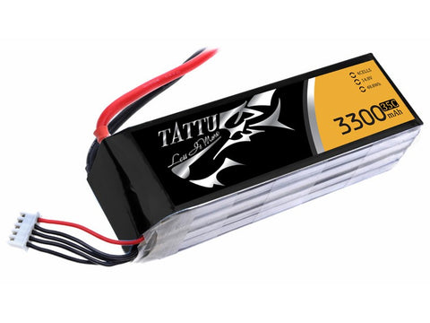 TATTU 3300mAh 4s 35c Lipo Battery