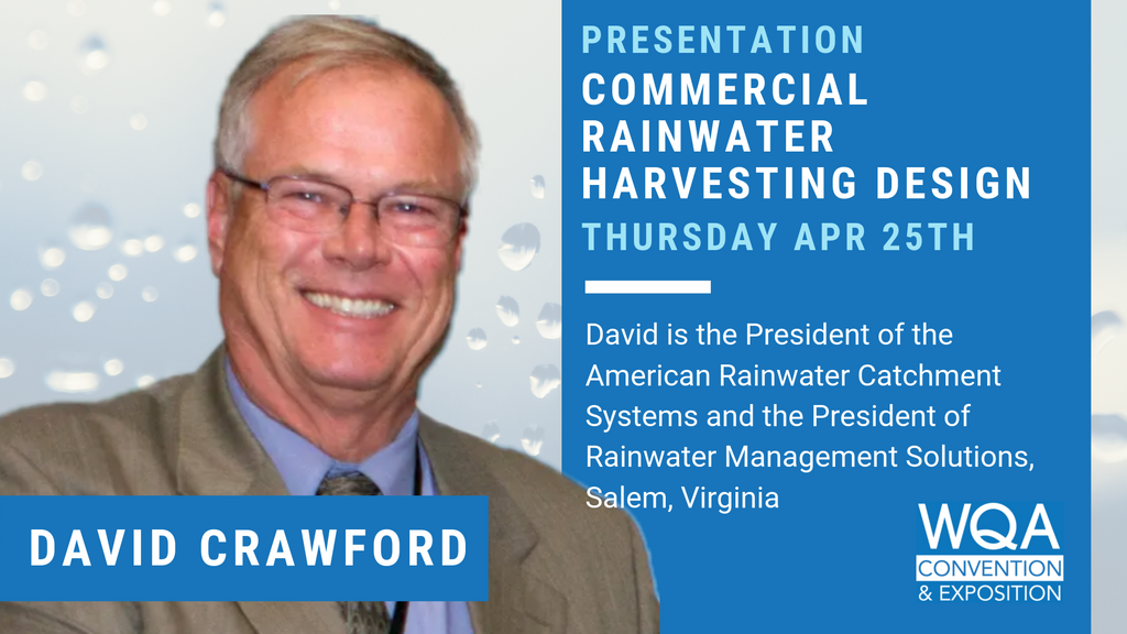 David Crawford RMS President to present at the WQA Convention | Press Release