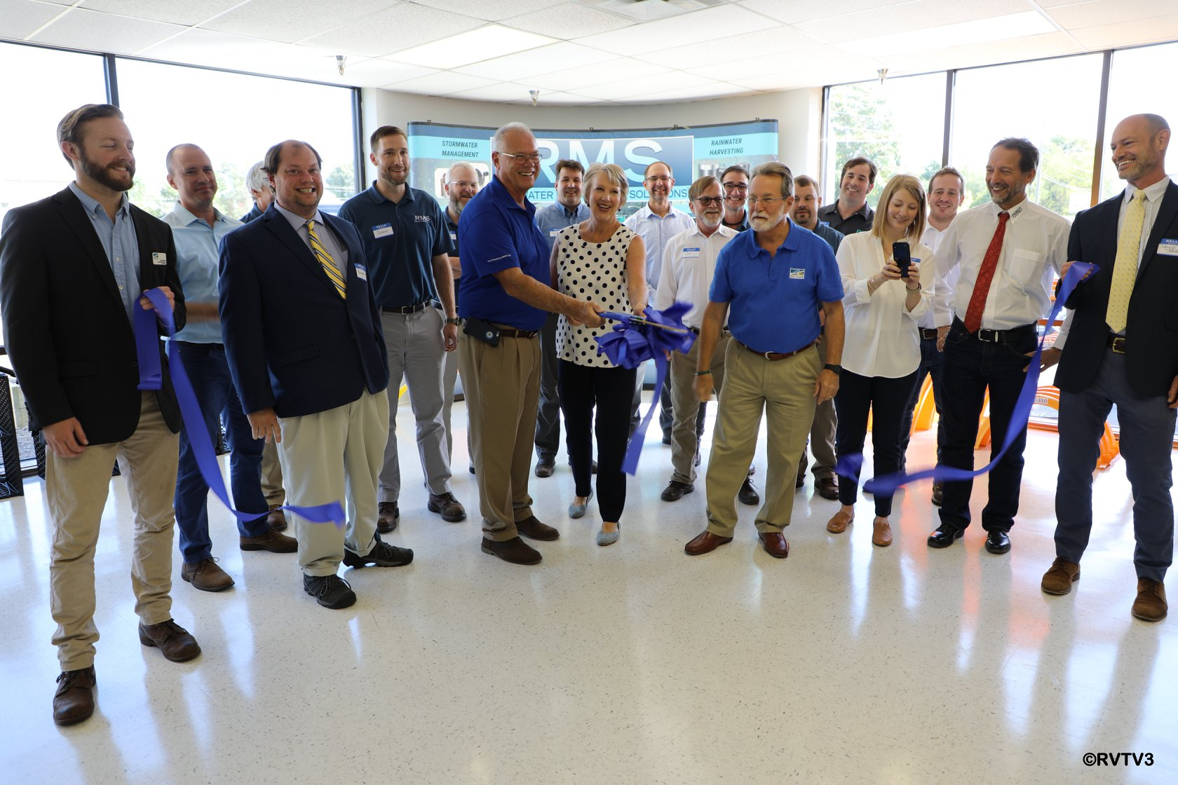 Rainwater Management Solutions Celebrates Grand Opening at New Location In Roanoke VA.