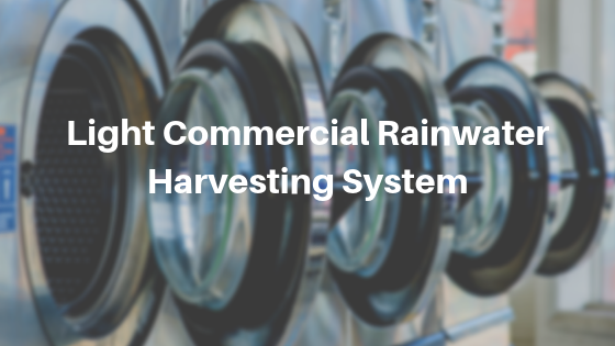 Light Commercial Rainwater Harvesting System | Blacksburg, Virginia