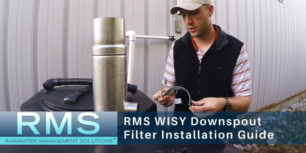 How to Install the WISY Downspout Filter (Rainwater Harvesting)