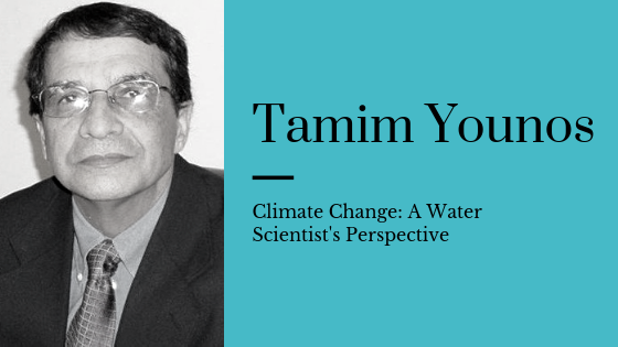 Climate change: A Water Scientist's Perspective