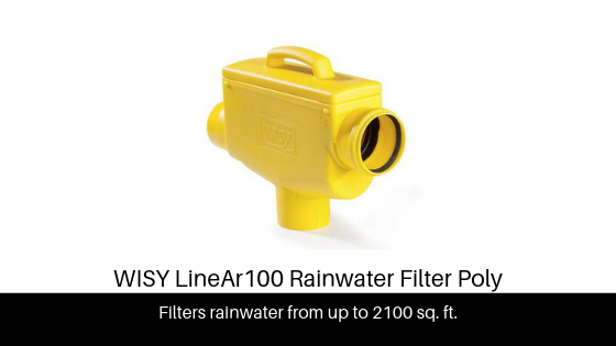 WISY LineAr 100 | Rainwater Filter