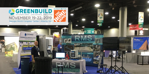 Greenbuild 2019 Rainwater Management Solutions