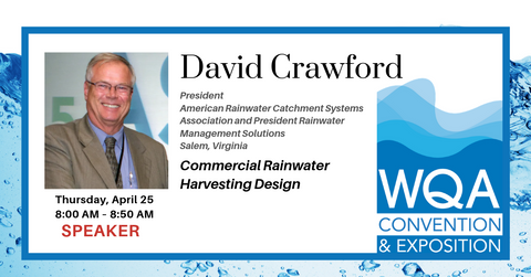 David Crawford Speaking at 2019 WQA convention