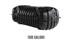 1500 Gallon Below-Ground Rainwater Storage Tank