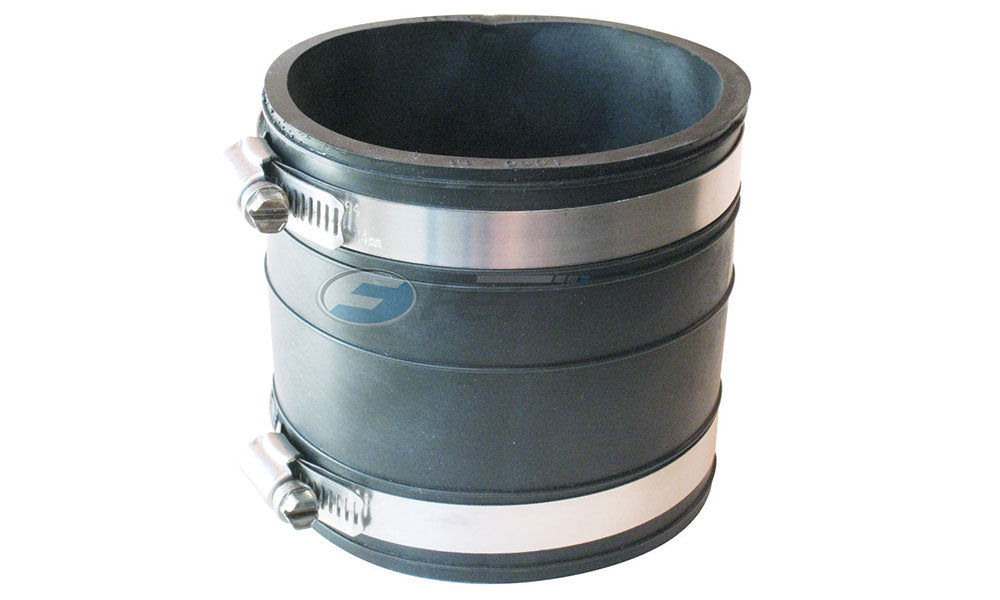 "4"" Fernco Rubber Coupling"