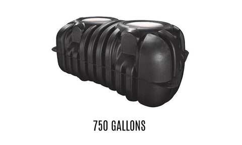 750 Gallon Below-Ground Rainwater Storage Tank