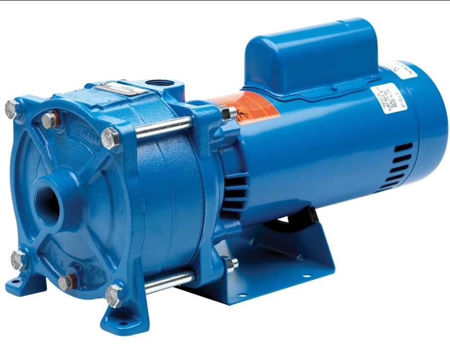 Goulds HSC Multi-Stage Centrifugal Pump, Single Phase