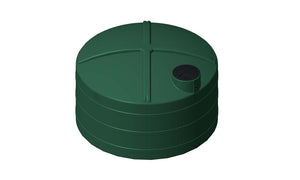 Rotoplas 5100 Gallon Rainwater Storage Tank Peanut Can