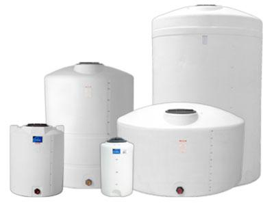 DenHartog 2500 Gallon Dome-top Vertical Tank