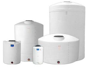 DenHartog 550 Gallon Dome-top Vertical Tank