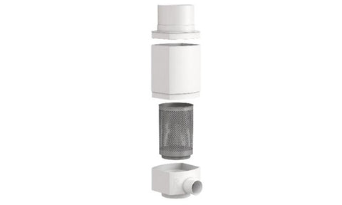 Image of WISY Polypropylene Downspout Rainwater Filter Package