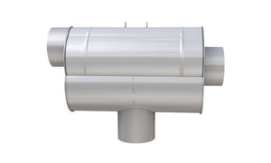 WISY LineAr100 Rainwater Filter Stainless Steel