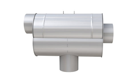 Image of WISY LineAr100 Rainwater Filter Stainless Steel