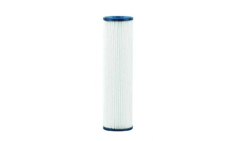 "VIQUA 4.5"" X 20"" Pleated 1 Micron Absolute Sediment Filter"