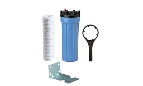 Slim Sediment Filter Housing Package 10""