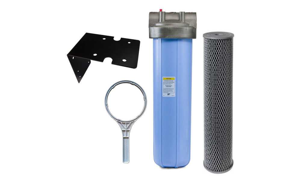 Big Blue Carbon Filter Housing Package 20