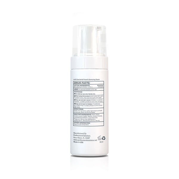 Anti-Bacterial Hand Cleansing Foam - 1 Half-Case (12 Units) - 4 oz
