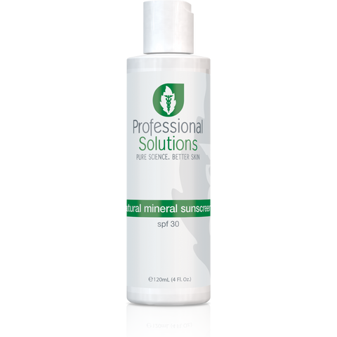 Natural Mineral Sunscreen SP30