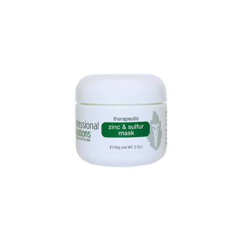 Therapeutic Zinc & sulfur Mask