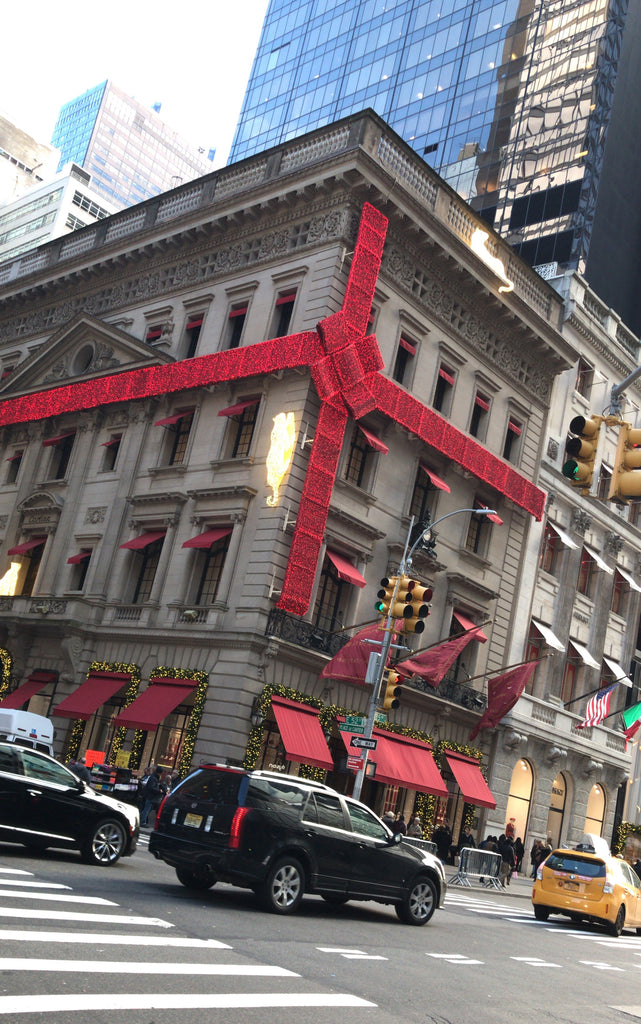 Cartier on 5th Ave during the holidays