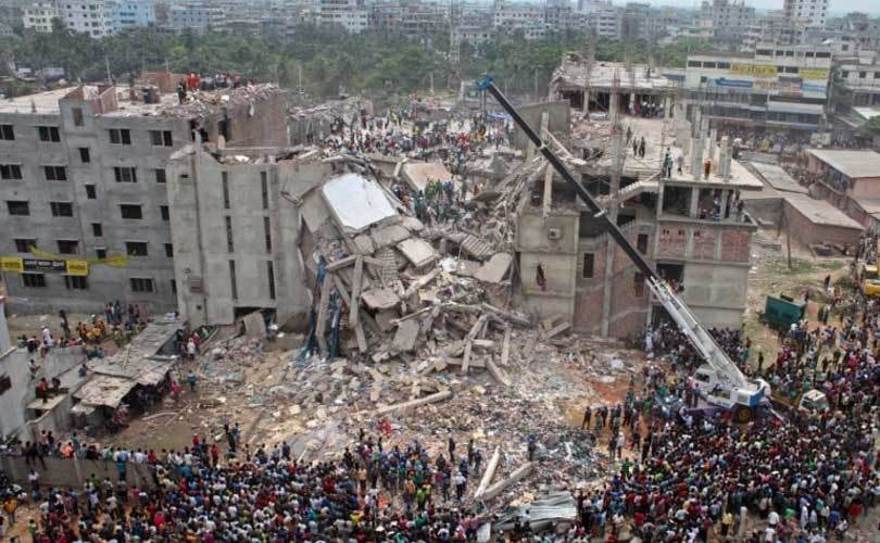 Dahka, Bangledesh, Rhana Plaza catastrophic collapse
