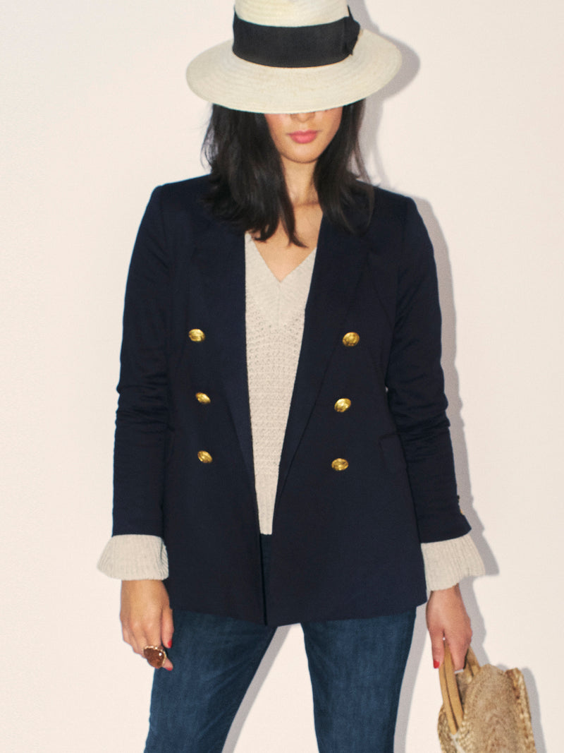 Katharine Double-Breasted Blazer