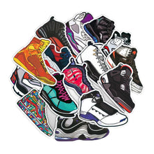 Load image into Gallery viewer, 50 Stickers Waterproof AJ Basketball Sneakers Stickers - Stickers