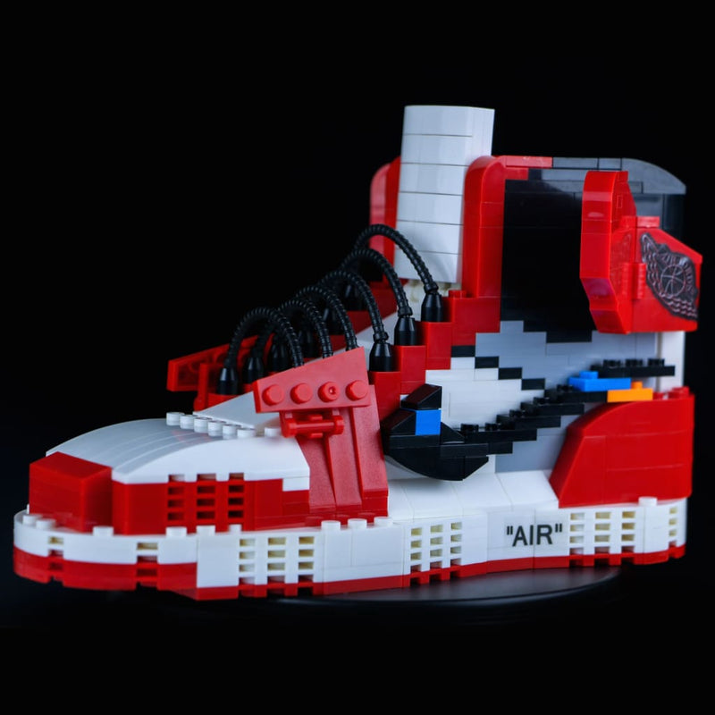 AJ1 Off-White Chicago Sneaker Set - Action & Toy Figures