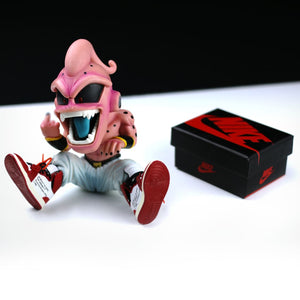DBZ KID Buu Figure with Sneakers Display Set - Action & Toy Figures
