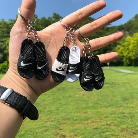 3D Miniature NK Slippers/Sandal Keychain - Key Chains