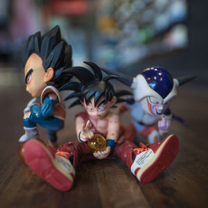 DBZ KID Goku Figure with Sneakers Display Set